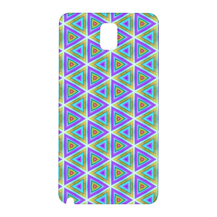 Colorful Retro Geometric Pattern Samsung Galaxy Note 3 N9005 Hardshell Back Case