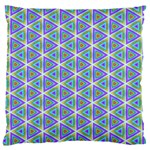 Colorful Retro Geometric Pattern Standard Flano Cushion Case (One Side) Front