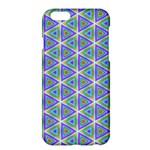 Colorful Retro Geometric Pattern Apple iPhone 6 Plus/6S Plus Hardshell Case