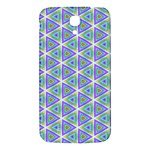 Colorful Retro Geometric Pattern Samsung Galaxy Mega I9200 Hardshell Back Case Front