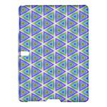 Colorful Retro Geometric Pattern Samsung Galaxy Tab S (10.5 ) Hardshell Case