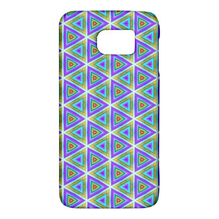 Colorful Retro Geometric Pattern Galaxy S6
