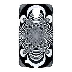 Black And White Ornamental Flower Galaxy S4 Active by designworld65