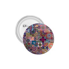 Ornamental Mosaic Background 1 75  Buttons by TastefulDesigns