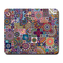 Ornamental Mosaic Background Large Mousepads