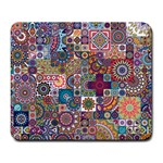 Ornamental Mosaic Background Large Mousepads