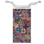 Ornamental Mosaic Background Jewelry Bags