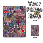 Ornamental Mosaic Background Playing Cards 54 Designs  Front - Heart5