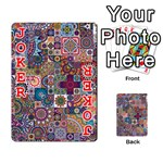 Ornamental Mosaic Background Playing Cards 54 Designs  Front - Joker2