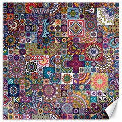 Ornamental Mosaic Background Canvas 16  X 16