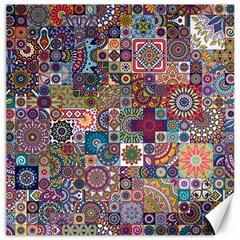 Ornamental Mosaic Background Canvas 16  x 16