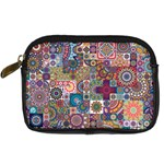 Ornamental Mosaic Background Digital Camera Cases Front