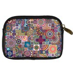 Ornamental Mosaic Background Digital Camera Cases Back
