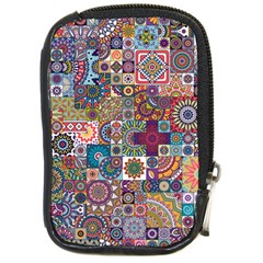 Ornamental Mosaic Background Compact Camera Cases