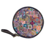 Ornamental Mosaic Background Classic 20-CD Wallets