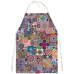 Ornamental Mosaic Background Full Print Aprons Front