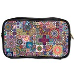 Ornamental Mosaic Background Toiletries Bags 2-Side