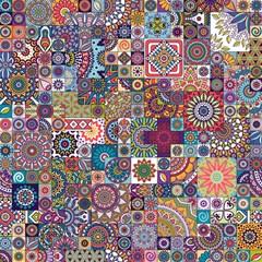 Ornamental Mosaic Background Magic Photo Cubes