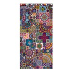 Ornamental Mosaic Background Shower Curtain 36  x 72  (Stall)  33.26 x66.24 Curtain