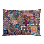 Ornamental Mosaic Background Pillow Case (Two Sides)