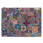Ornamental Mosaic Background Cosmetic Bag (XXL)  Front