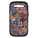 Ornamental Mosaic Background Samsung Galaxy S III Hardshell Case (PC+Silicone)