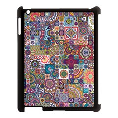 Ornamental Mosaic Background Apple Ipad 3/4 Case (black) by TastefulDesigns