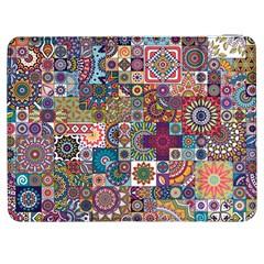 Ornamental Mosaic Background Samsung Galaxy Tab 7  P1000 Flip Case