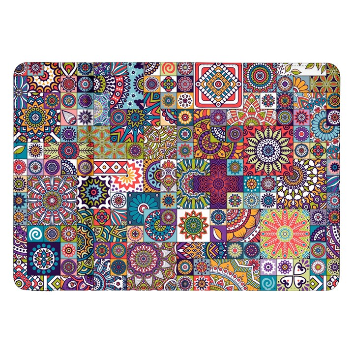 Ornamental Mosaic Background Samsung Galaxy Tab 8.9  P7300 Flip Case