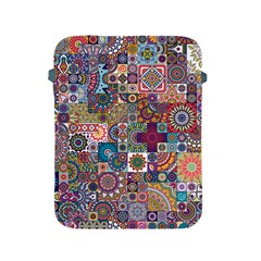 Ornamental Mosaic Background Apple Ipad 2/3/4 Protective Soft Cases