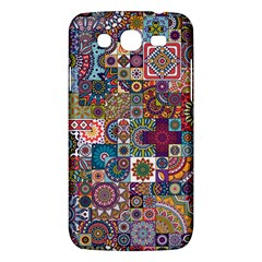 Ornamental Mosaic Background Samsung Galaxy Mega 5 8 I9152 Hardshell Case