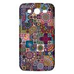 Ornamental Mosaic Background Samsung Galaxy Mega 5.8 I9152 Hardshell Case
