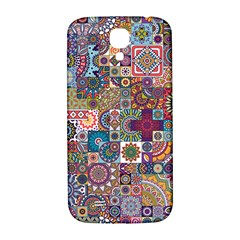 Ornamental Mosaic Background Samsung Galaxy S4 I9500/i9505  Hardshell Back Case