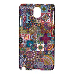 Ornamental Mosaic Background Samsung Galaxy Note 3 N9005 Hardshell Case by TastefulDesigns