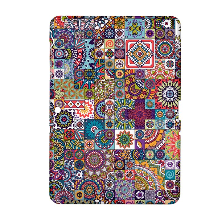 Ornamental Mosaic Background Samsung Galaxy Tab 2 (10.1 ) P5100 Hardshell Case