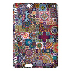 Ornamental Mosaic Background Kindle Fire Hdx Hardshell Case