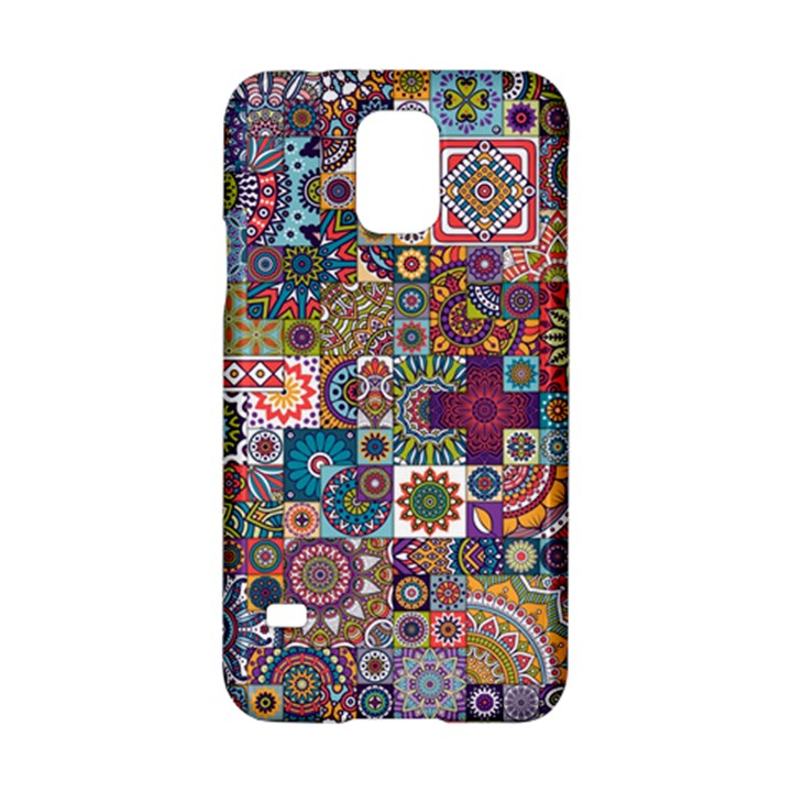 Ornamental Mosaic Background Samsung Galaxy S5 Hardshell Case