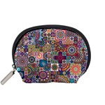 Ornamental Mosaic Background Accessory Pouches (Small)