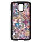 Ornamental Mosaic Background Samsung Galaxy S5 Case (Black)