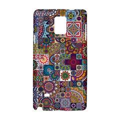 Ornamental Mosaic Background Samsung Galaxy Note 4 Hardshell Case