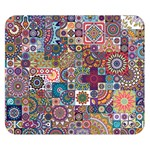 Ornamental Mosaic Background Double Sided Flano Blanket (Small)