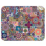 Ornamental Mosaic Background Double Sided Flano Blanket (Medium)  60 x50 Blanket Front