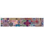 Ornamental Mosaic Background Flano Scarf (Small)