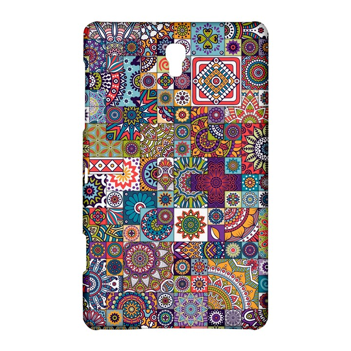 Ornamental Mosaic Background Samsung Galaxy Tab S (8.4 ) Hardshell Case