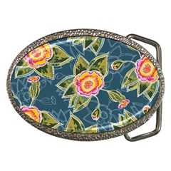 Floral Fantsy Pattern Belt Buckles by DanaeStudio