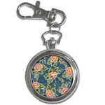 Floral Fantsy Pattern Key Chain Watches