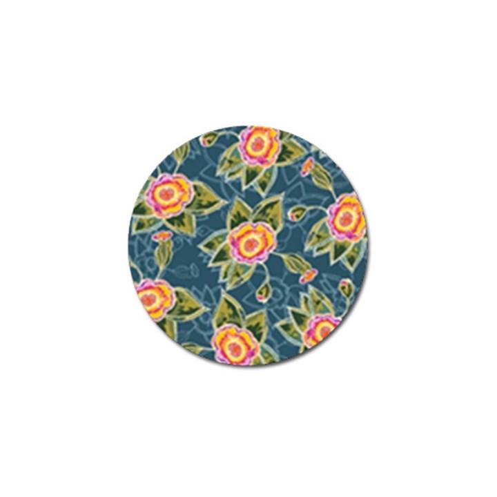 Floral Fantsy Pattern Golf Ball Marker (10 pack)