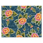 Floral Fantsy Pattern Rectangular Jigsaw Puzzl