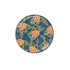 Floral Fantsy Pattern Hat Clip Ball Marker