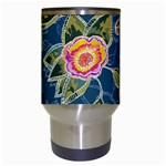 Floral Fantsy Pattern Travel Mugs (White) Center